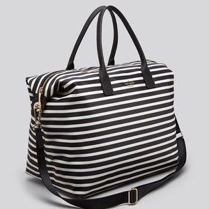 ♠️Kate Spade♠️ Dawn Overnight Weekender Stripe Bag